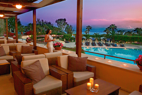 Elias Beach Hotel Terrace