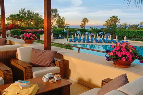 Elias Beach Hotel Terrace 1